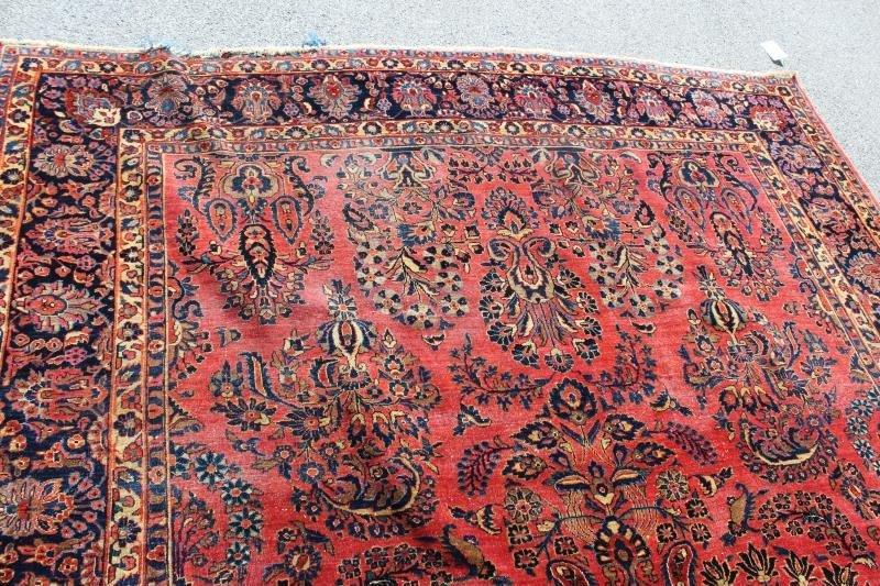 Finely Woven Roomsize Sarouk Carpet - 6