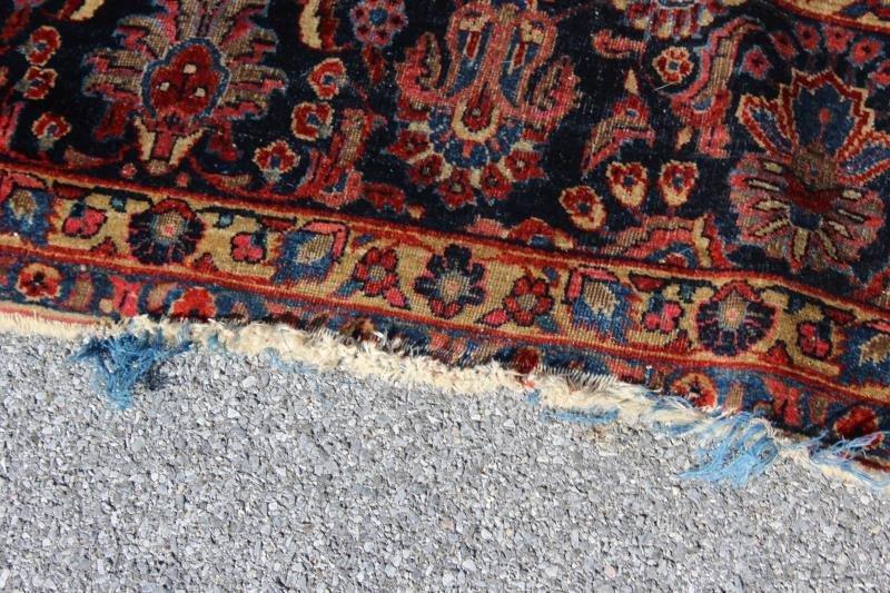 Finely Woven Roomsize Sarouk Carpet - 7