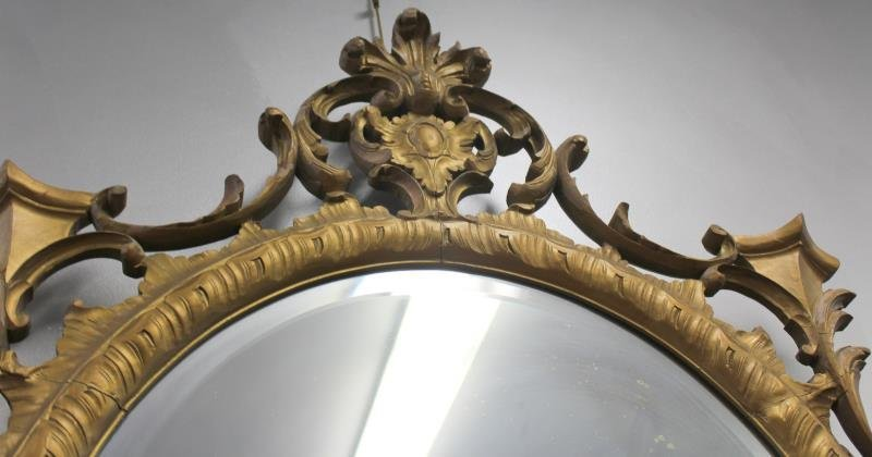 Carved Giltwood Mirror. - 4