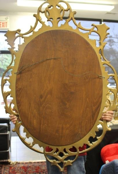 Carved Giltwood Mirror. - 5