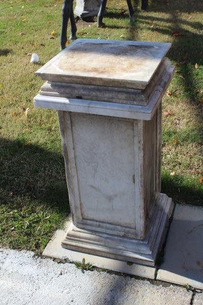 Lot of Marble Architectural Fragments / Pedestals. - 5