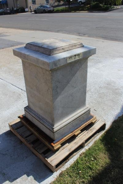 Lot of Marble Architectural Fragments / Pedestals. - 6