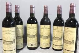6 Bottles Chateau La Mission Haut Brion 1978 Wine