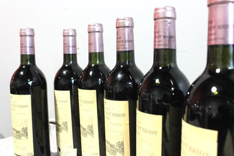 6 Bottles Chateau La Mission Haut Brion 1978 Wine. - 3