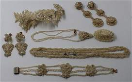 JEWELRY Miscellaneous Grouping of Seed Pearl