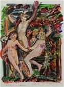 "BARNES, Robert M. ""Homage Carpeaux"" 1963."