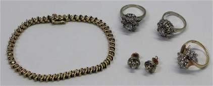JEWELRY Diamond Jewelry Grouping