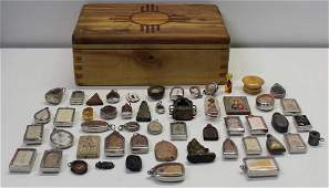 Large Collection of Relics and Charms