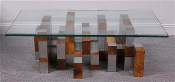 Paul Evans for Directional Cityscape Coffee Table.