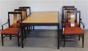 Edward Wormley for Dunbar Dining Table & Chairs.