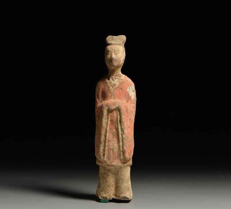 Chinese Sui Dynasty pottery figurines