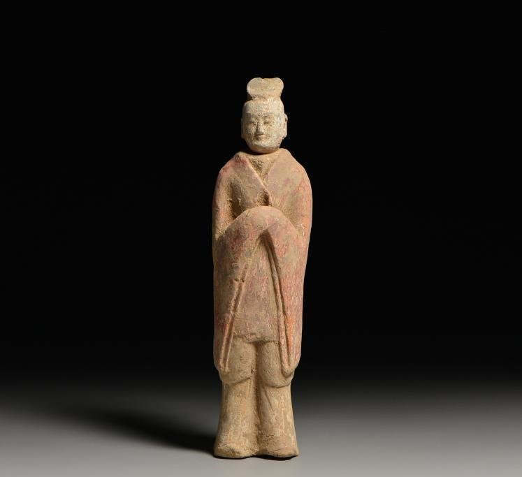 Painted Pottery ceremonial figurines