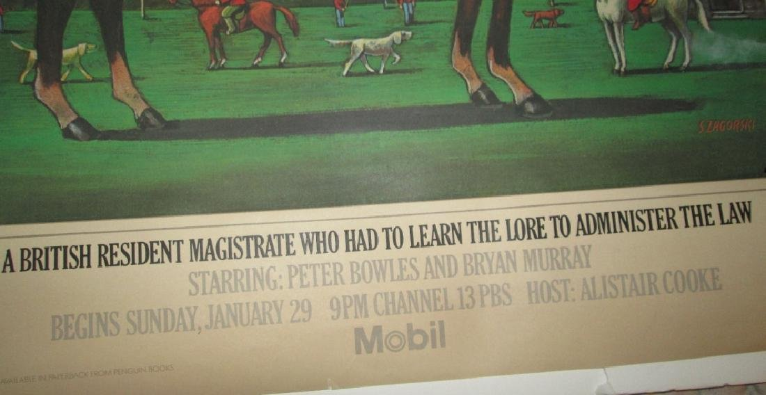 ORIG 1983 MOBIL MYSTERY MASTERPIECE THEATRE POSTER - 3