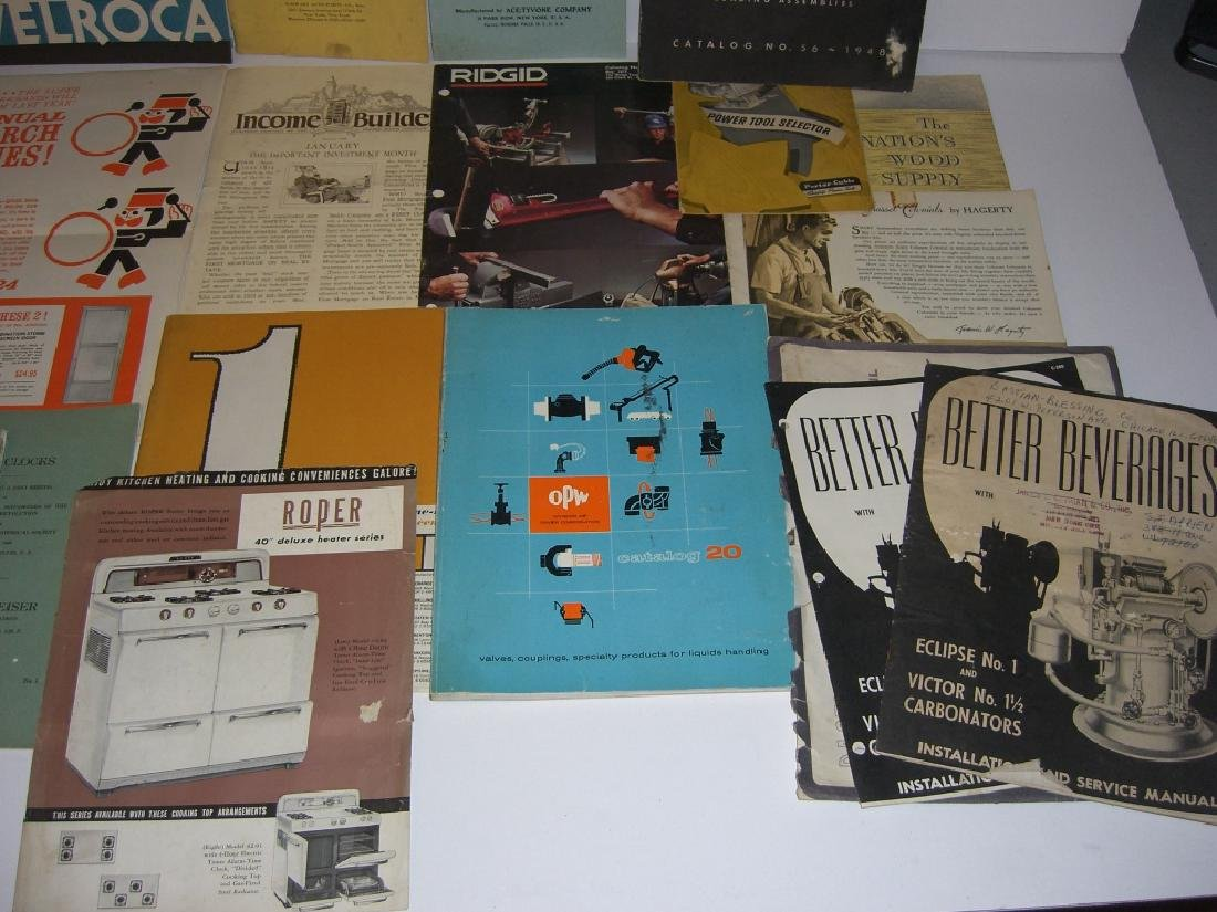 41 vintage tool guides, catalogs, pamphlets - 10