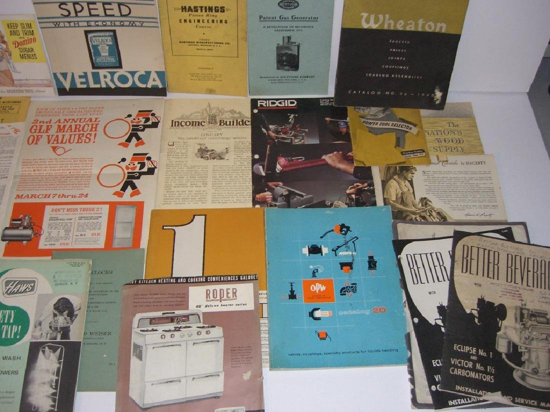 41 vintage tool guides, catalogs, pamphlets - 4