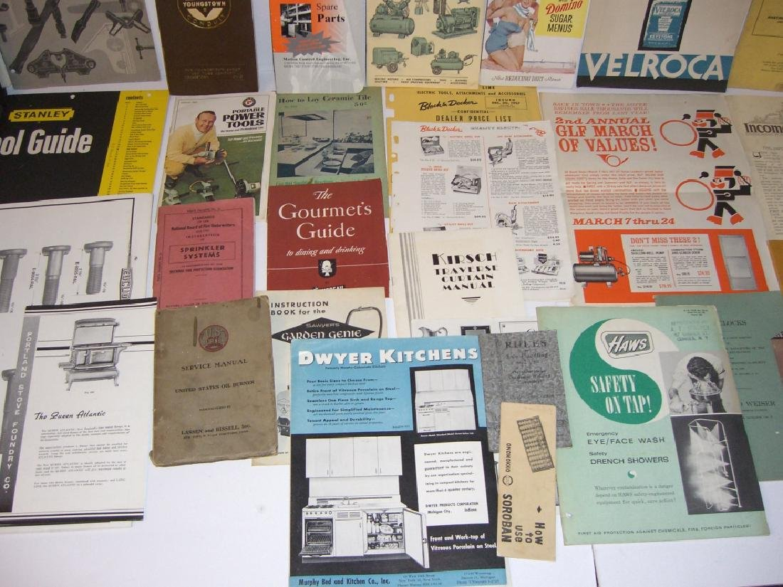 41 vintage tool guides, catalogs, pamphlets - 5