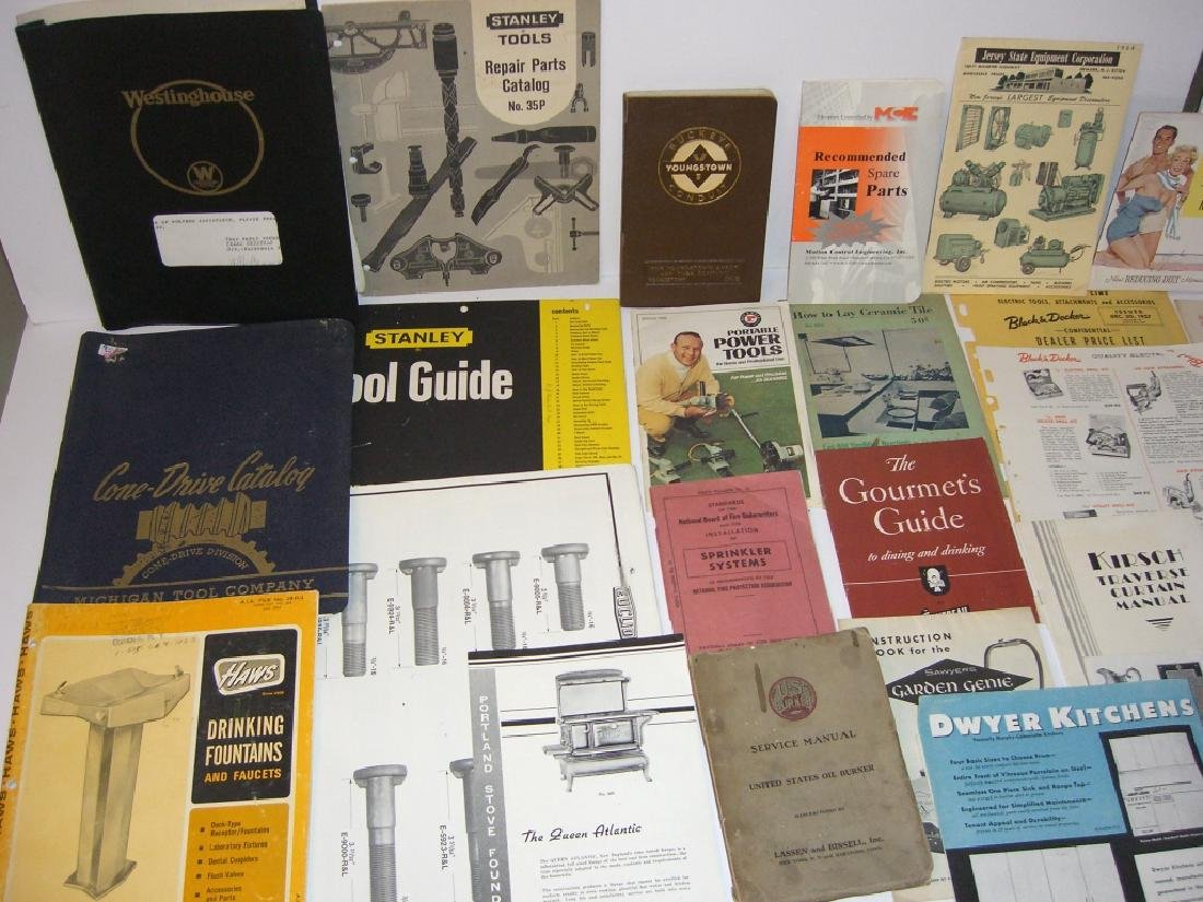41 vintage tool guides, catalogs, pamphlets - 6