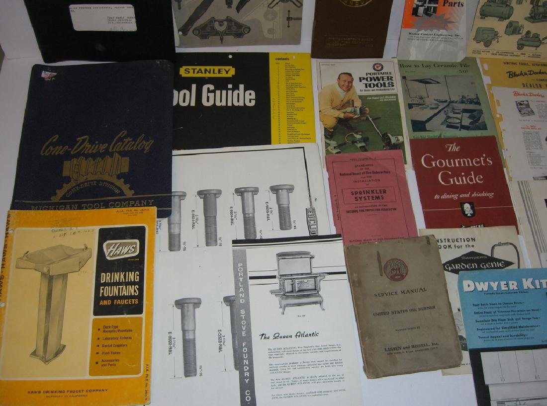 41 vintage tool guides, catalogs, pamphlets - 7
