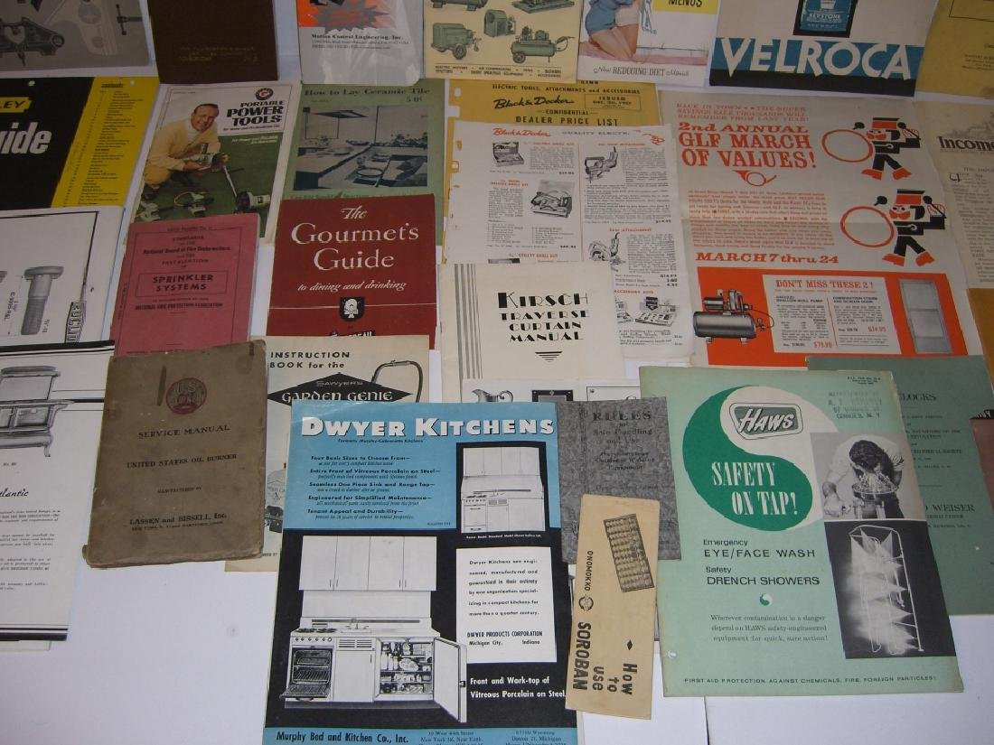 41 vintage tool guides, catalogs, pamphlets - 8