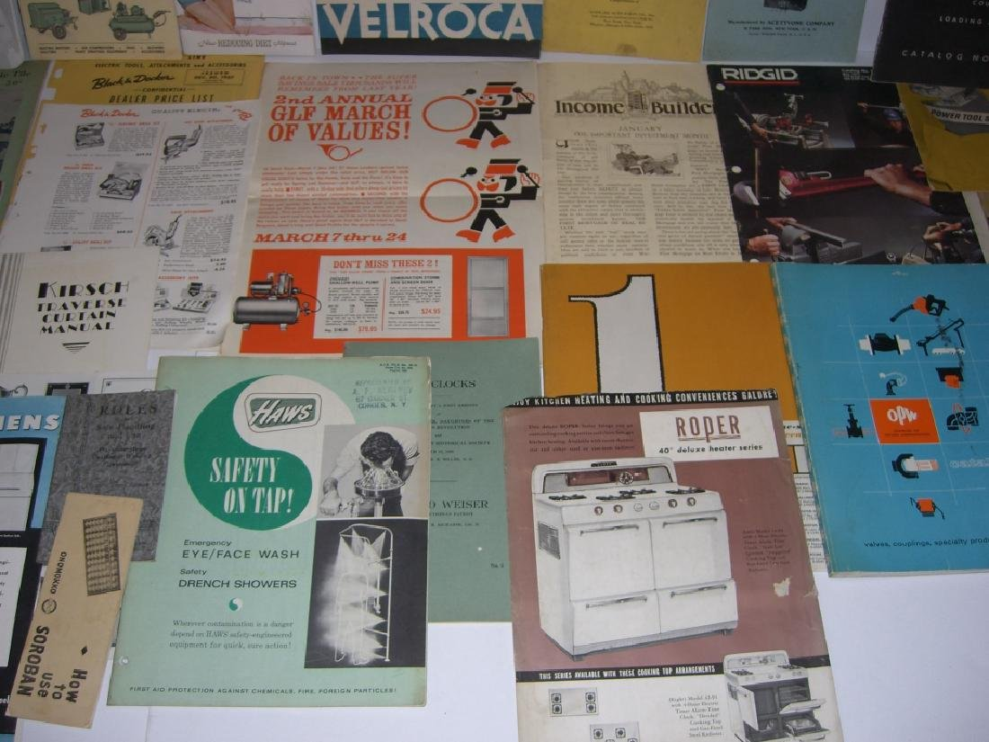 41 vintage tool guides, catalogs, pamphlets - 9