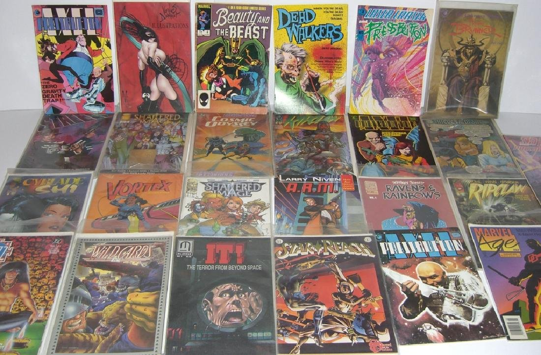 Collection of 26 comic books