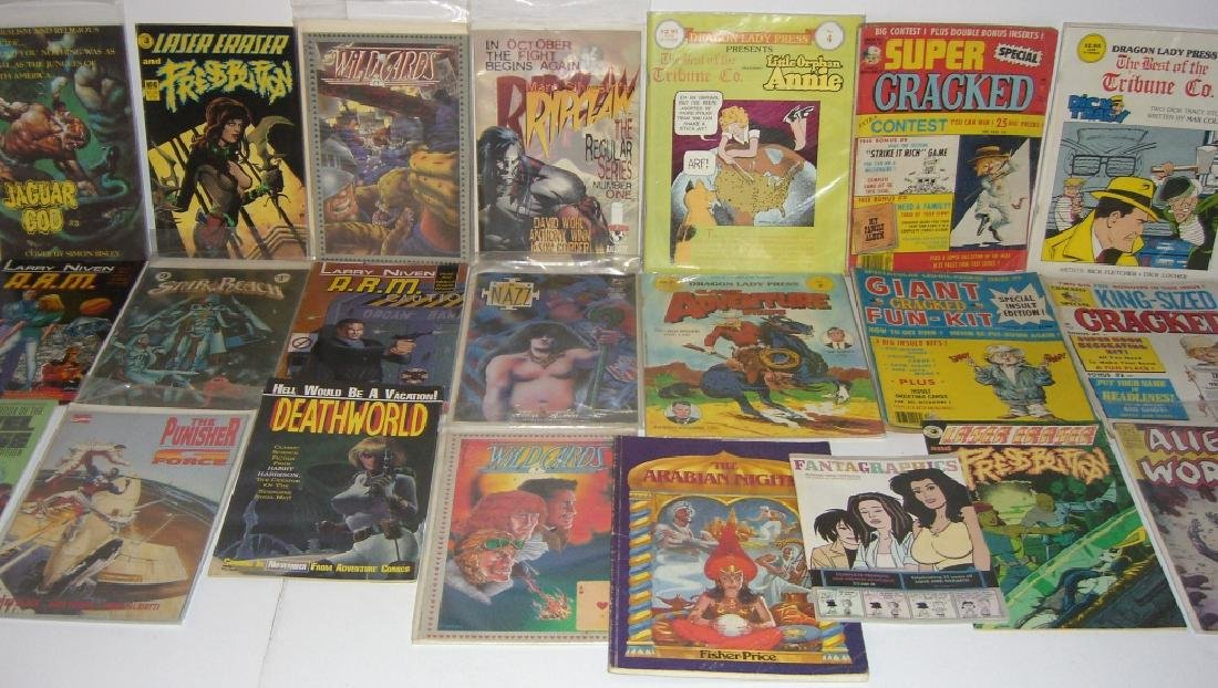 Collection of 22 vintage comic books