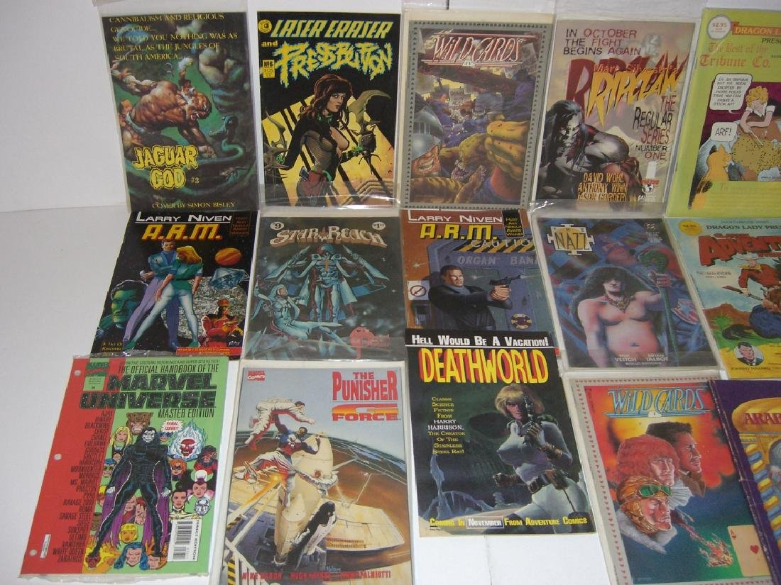 Collection of 22 vintage comic books - 2