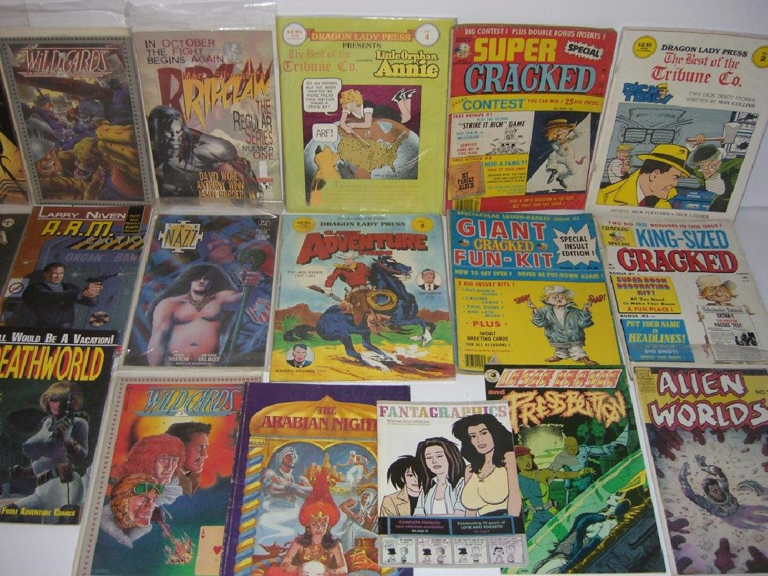 Collection of 22 vintage comic books - 3