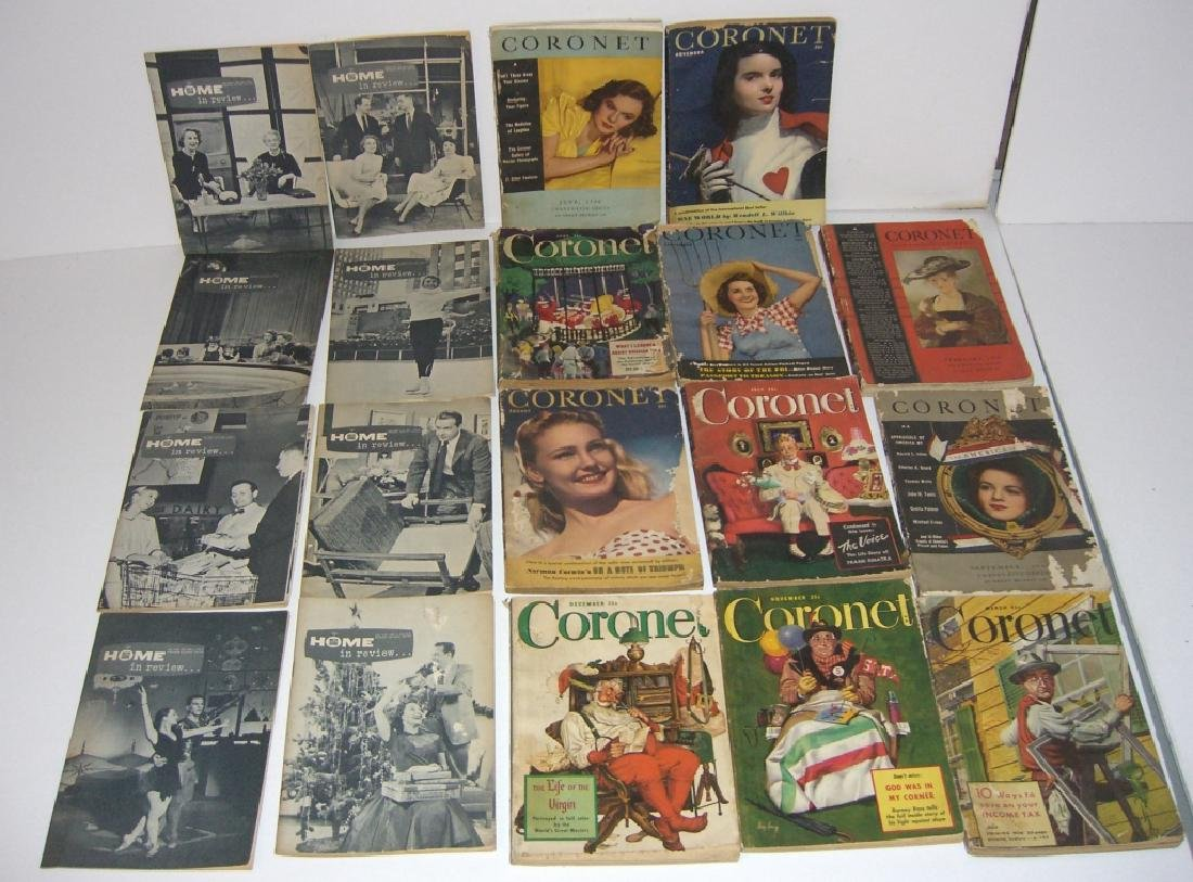 19 vintage Cornet &  Home in Review magazines