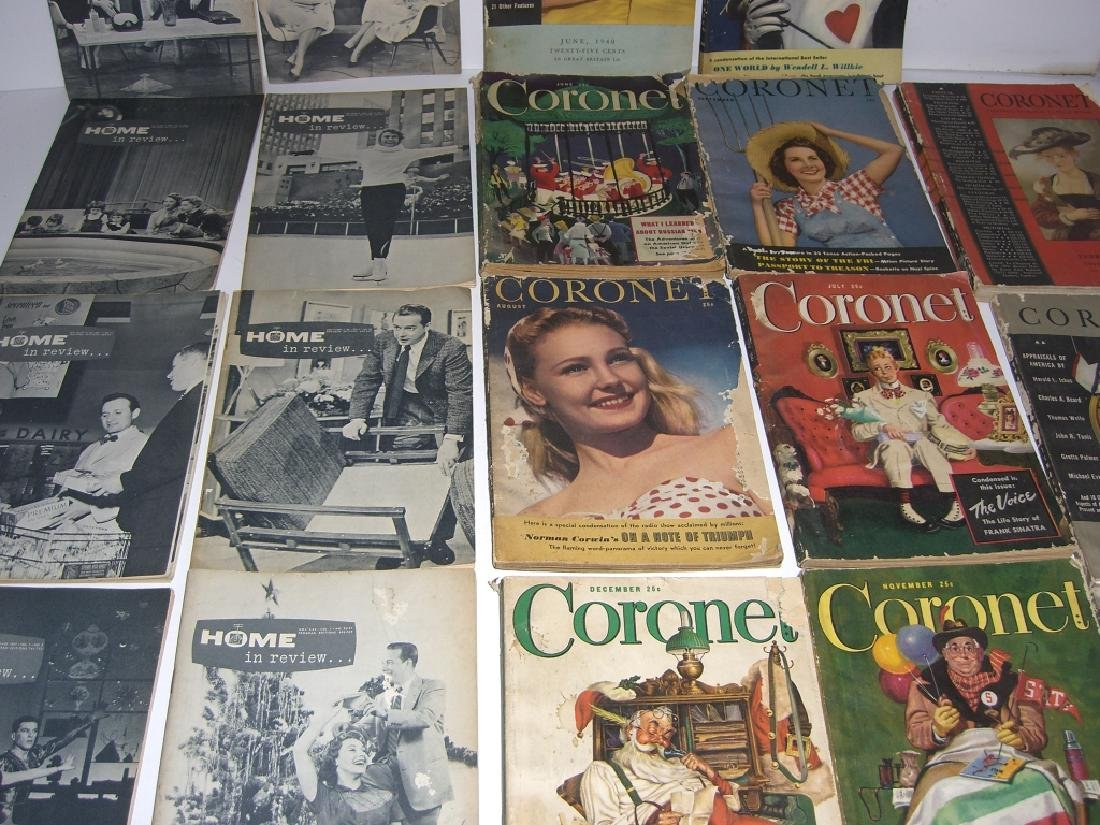 19 vintage Cornet &  Home in Review magazines - 2