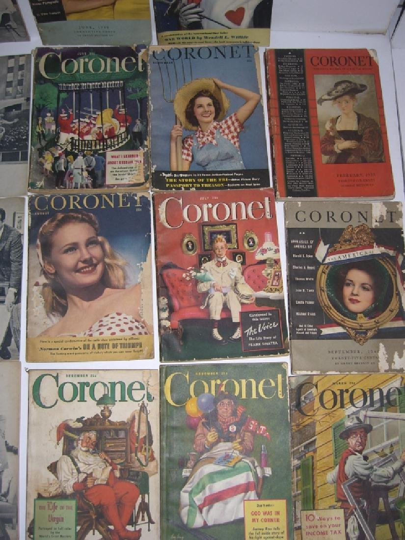 19 vintage Cornet &  Home in Review magazines - 3