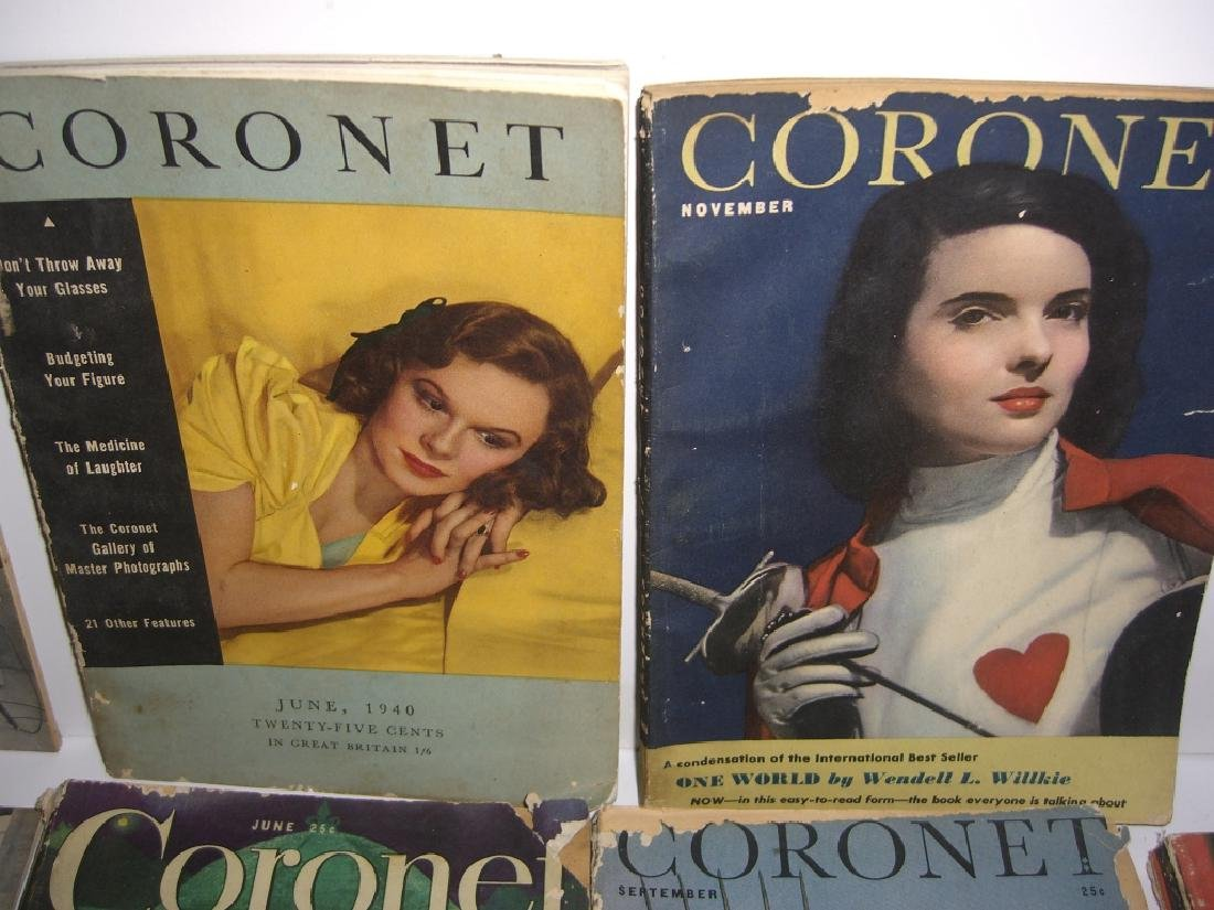 19 vintage Cornet &  Home in Review magazines - 6