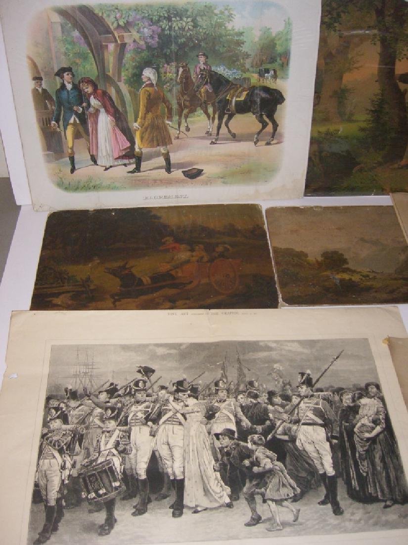 Collection of 35 etchings, engravings, lithographs - 2