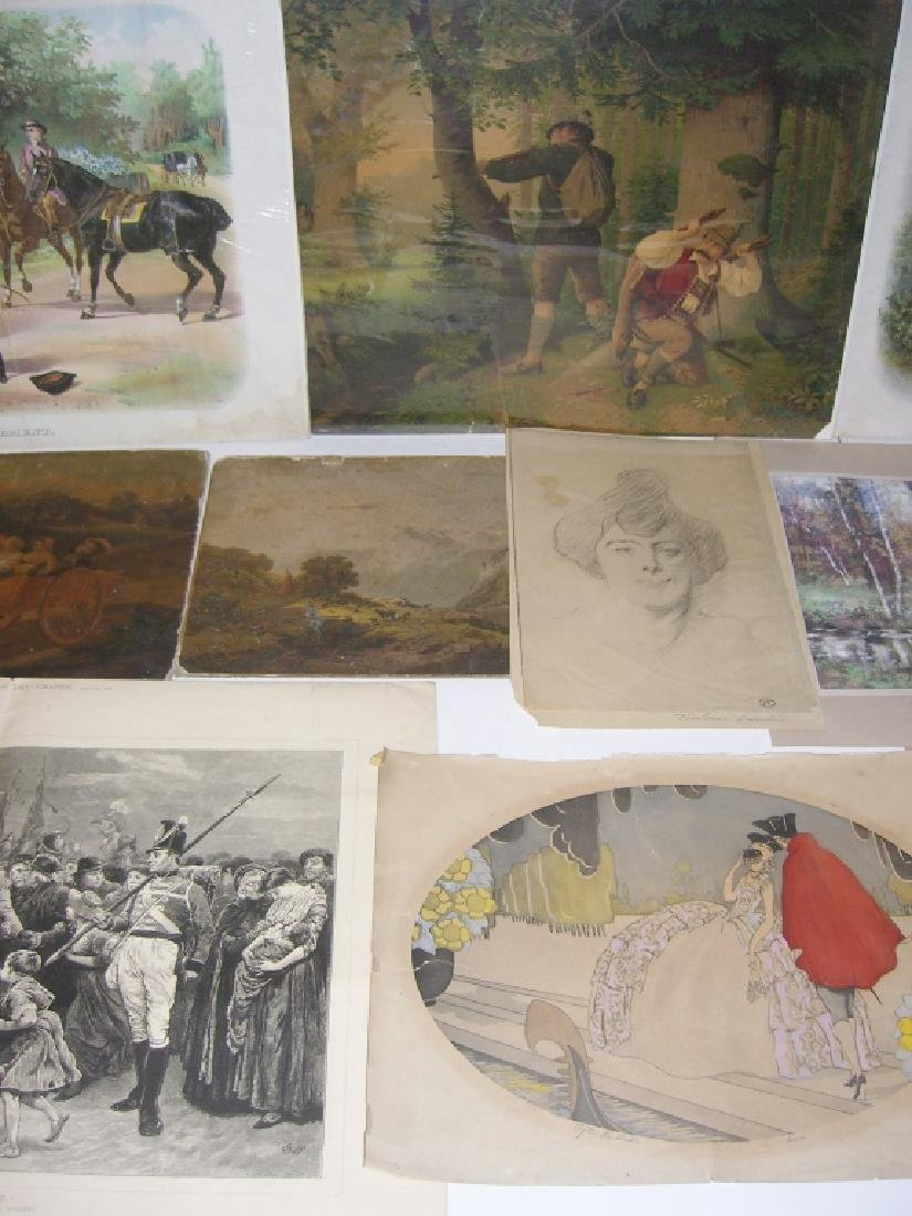 Collection of 35 etchings, engravings, lithographs - 3