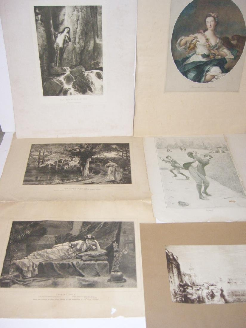Collection of 35 etchings, engravings, lithographs - 8