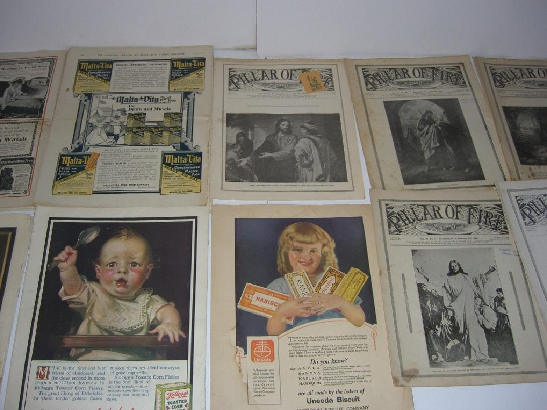 Collection of 64 vintage magazines, newspapers - 10