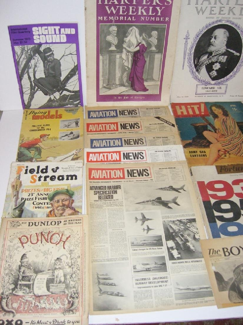 Collection of 64 vintage magazines, newspapers - 3