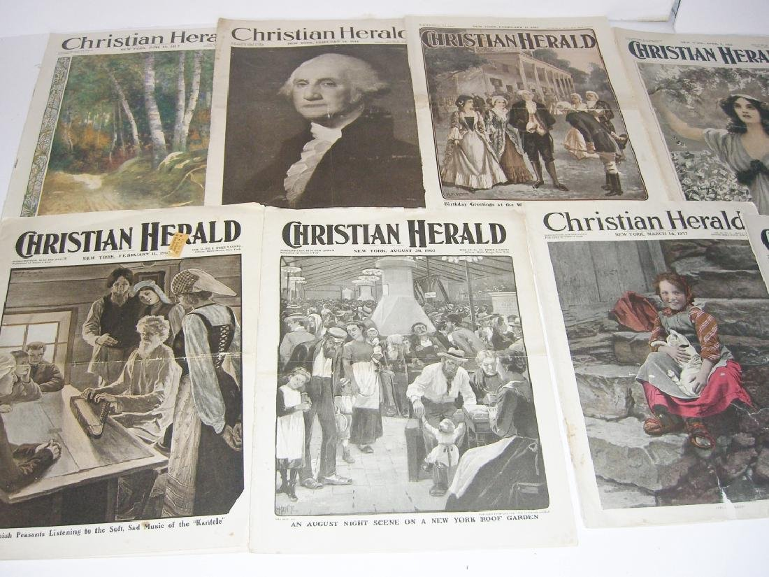Collection of 64 vintage magazines, newspapers - 7