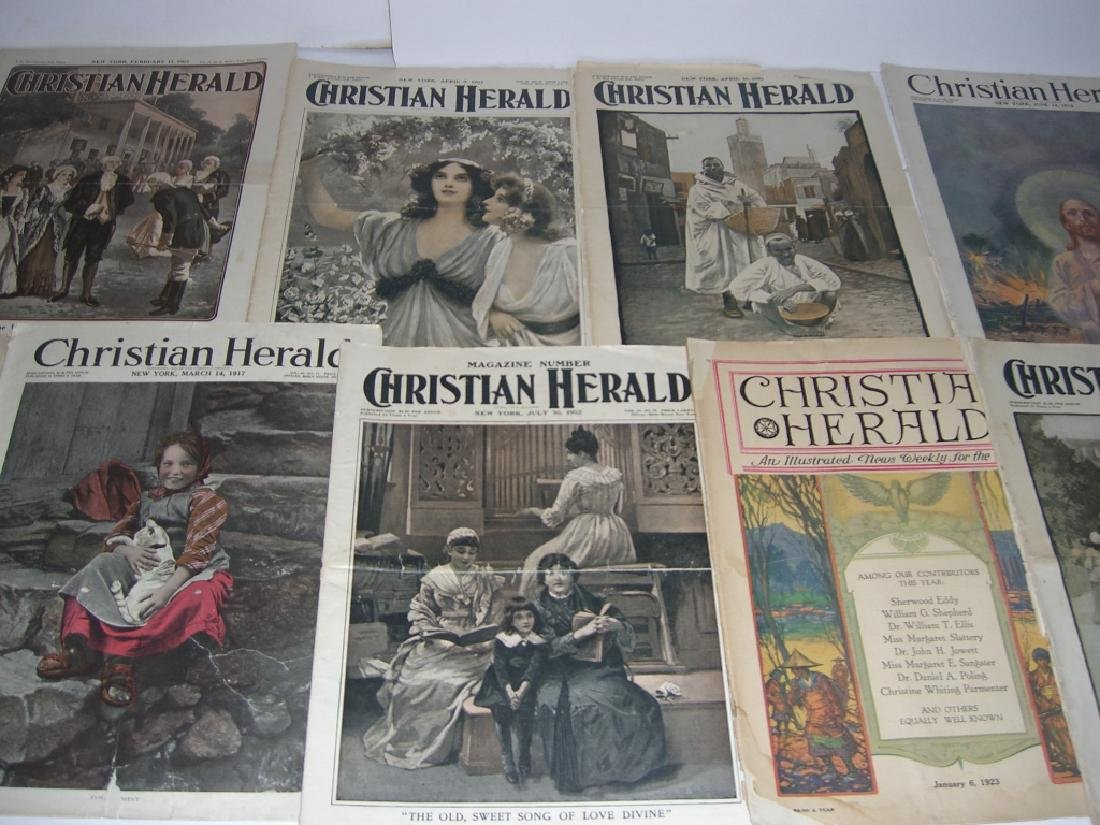 Collection of 64 vintage magazines, newspapers - 8