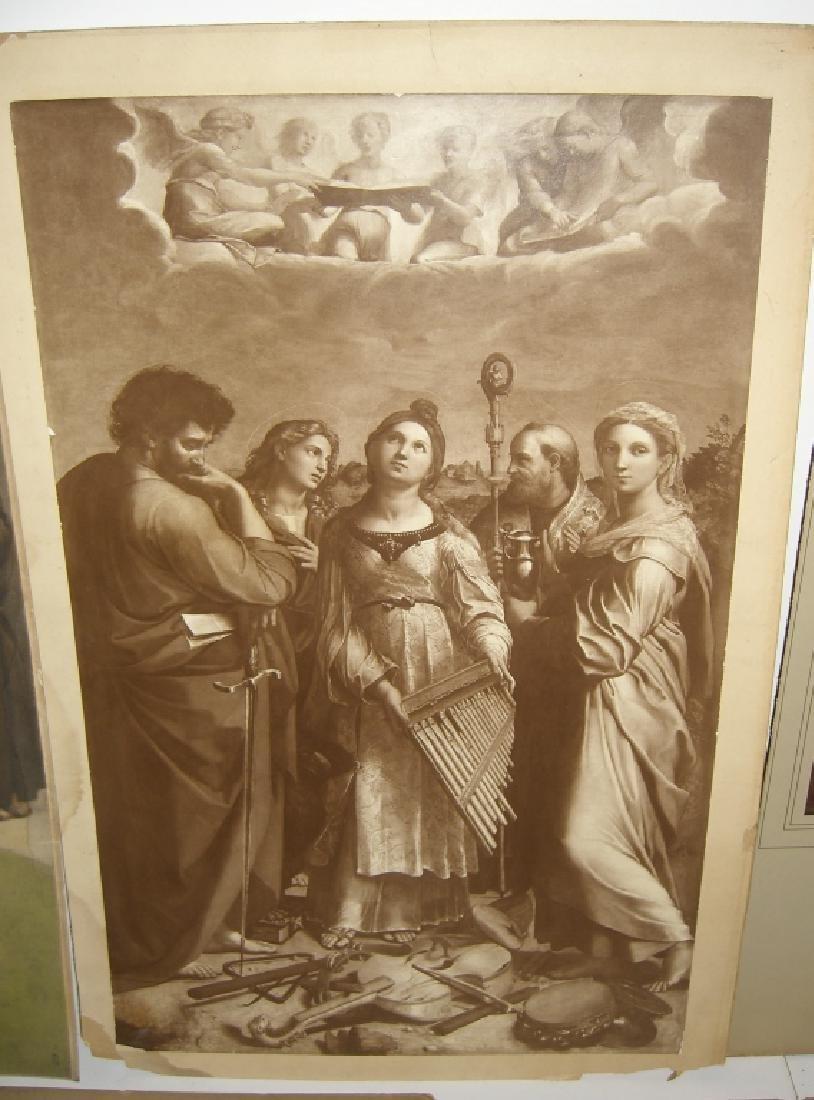 7 vintage prints/chromolithograph - 9