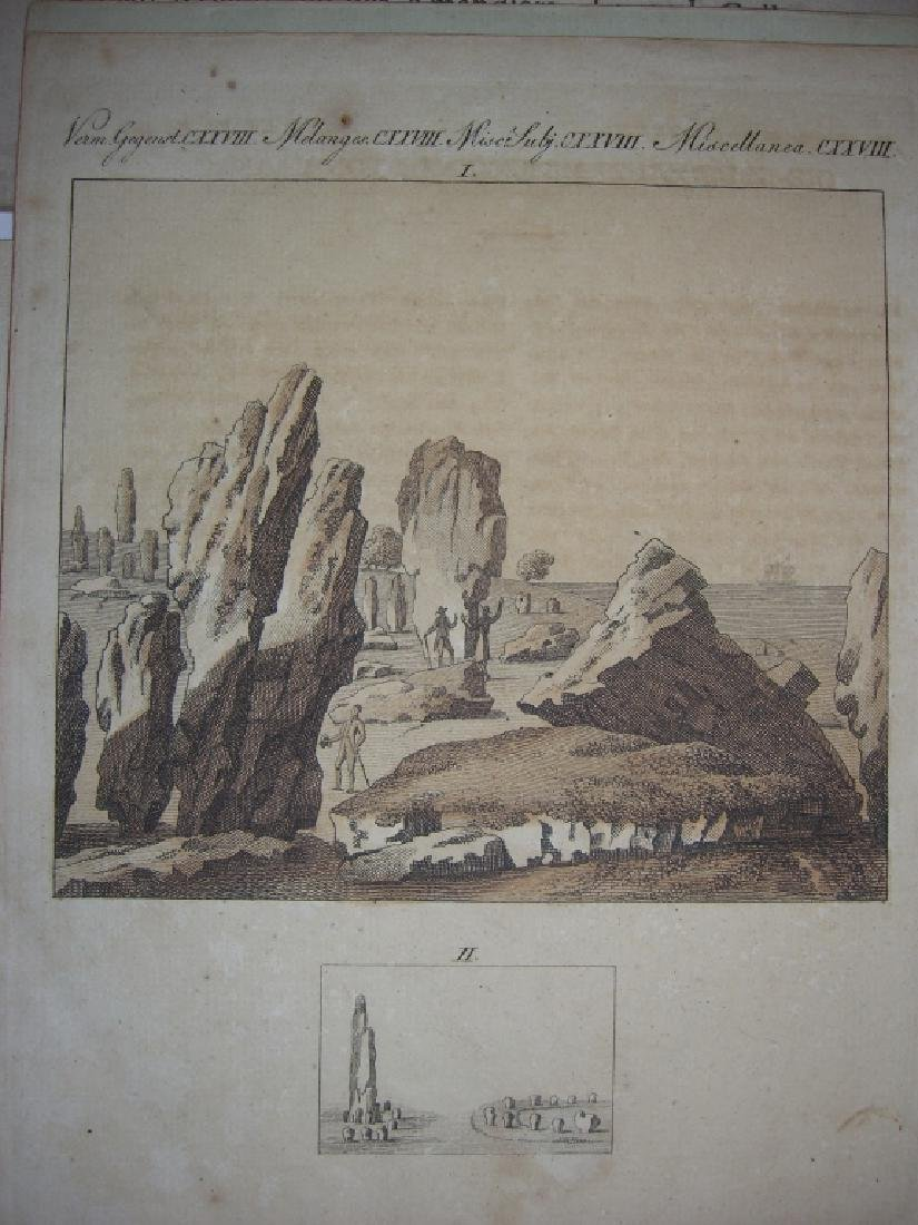 16 18th/19th century engravings/etchings - 3