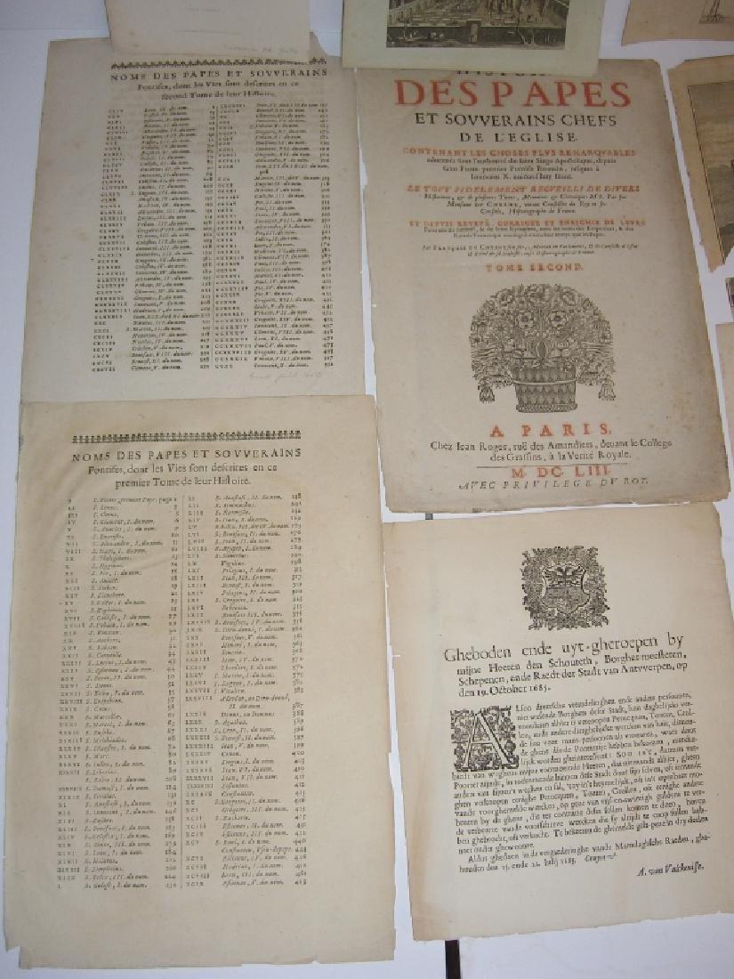 16 18th/19th century engravings/etchings - 5