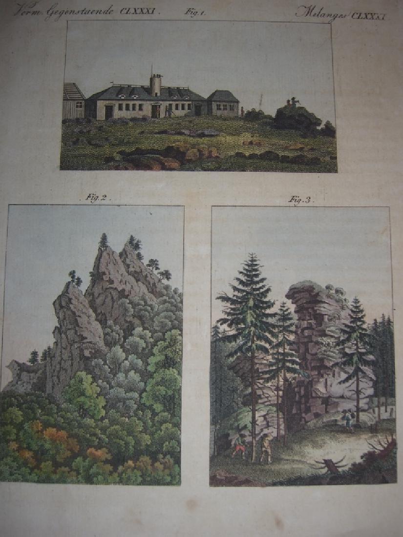 16 18th/19th century engravings/etchings - 8