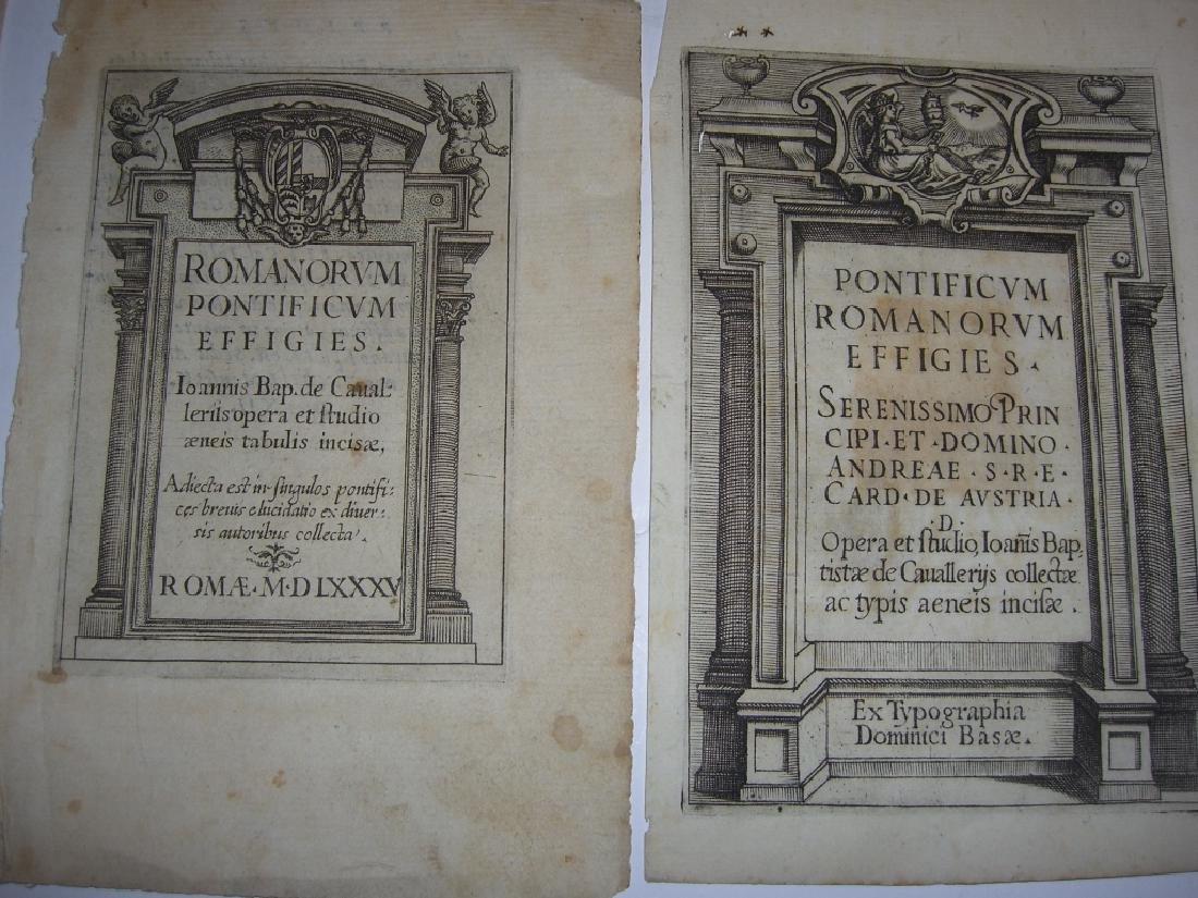 16 18th/19th century engravings/etchings - 9
