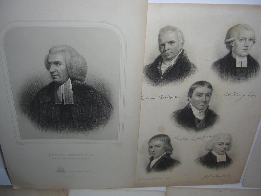 25 18th/19th century portrait engravings/etchings - 10