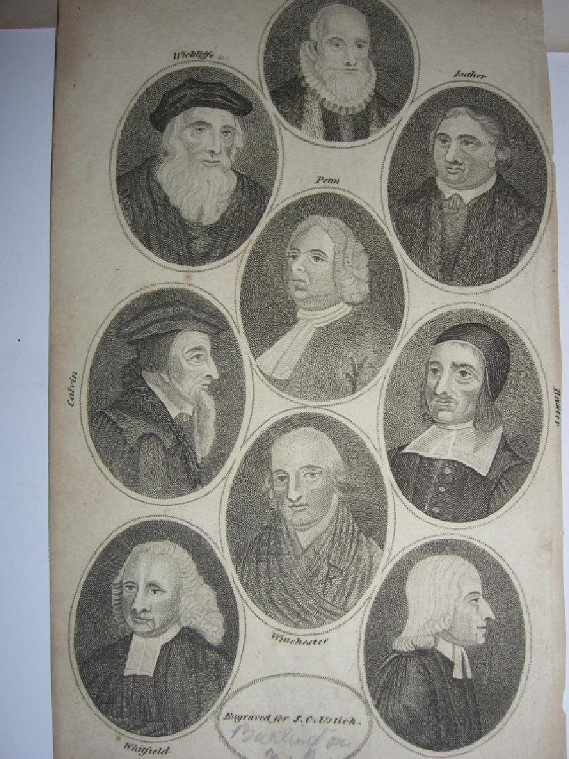 25 18th/19th century portrait engravings/etchings - 3