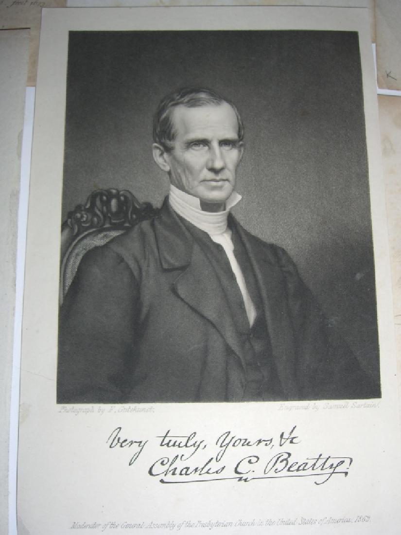 25 18th/19th century portrait engravings/etchings - 5