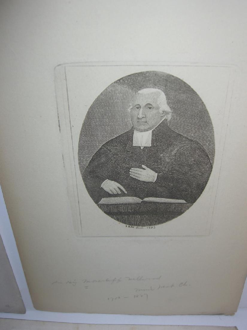 25 18th/19th century portrait engravings/etchings - 7