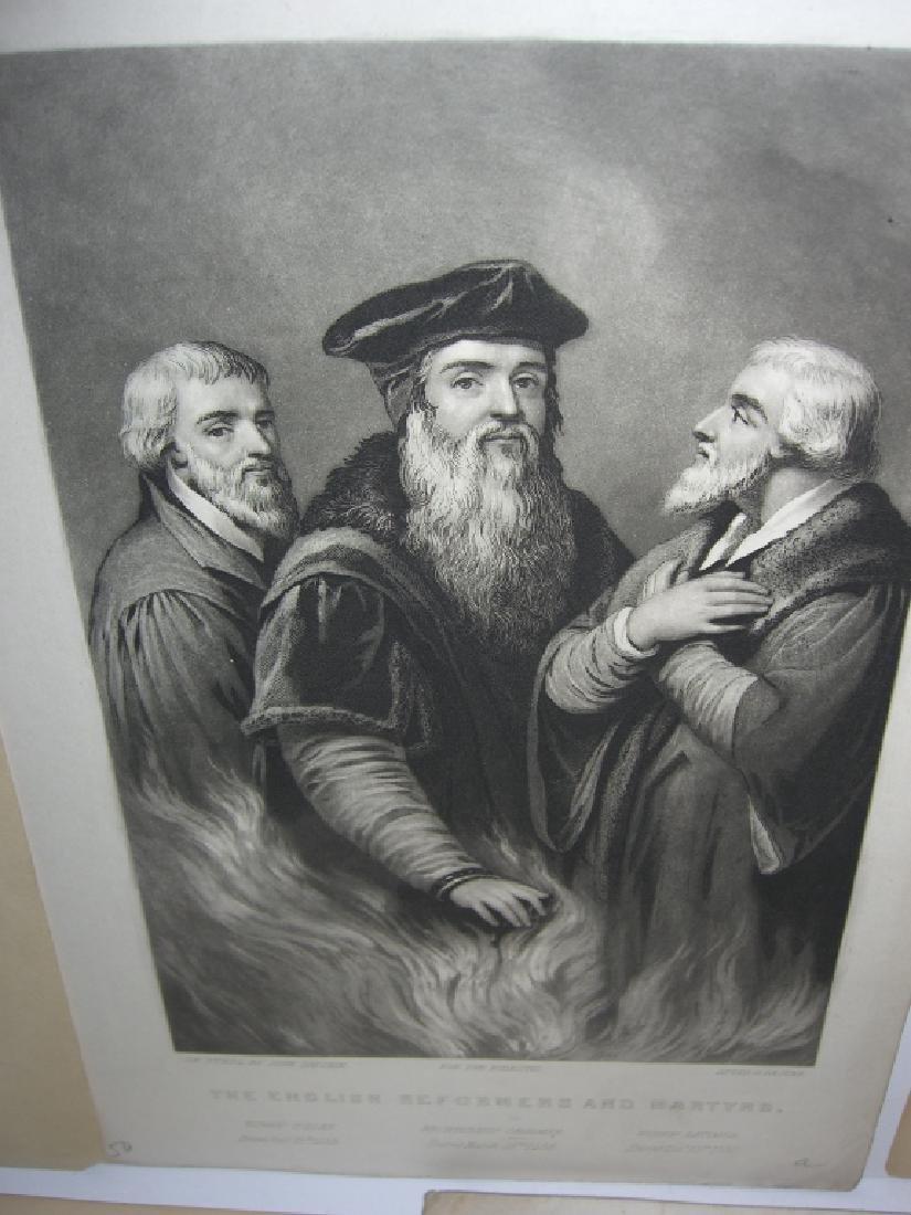 25 18th/19th century portrait engravings/etchings - 8