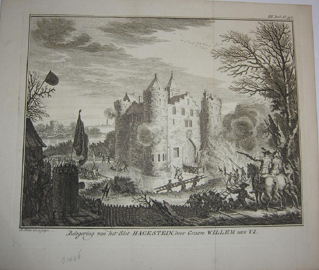 7 18th century engravings/etchings - 4